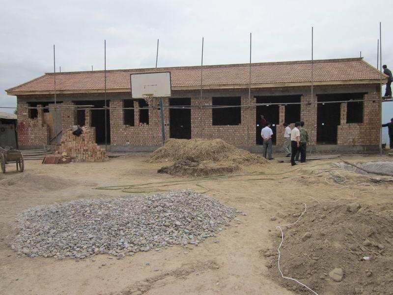 结构示意图 2009年福星镇元头坪村村级组织活动场所